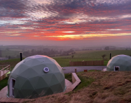 Sunset over the domes © Roddy Hamilton
