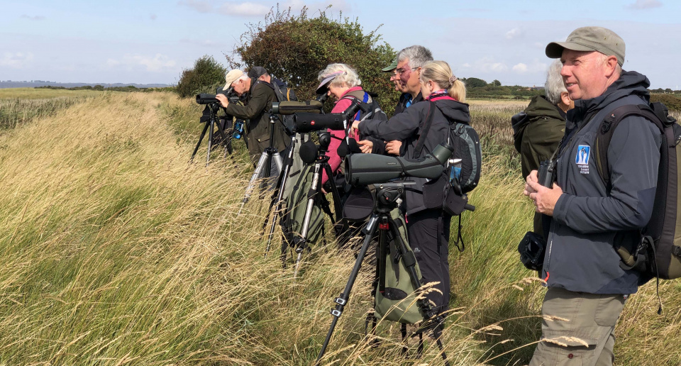 YCN wader ID workshop Spurn 2019